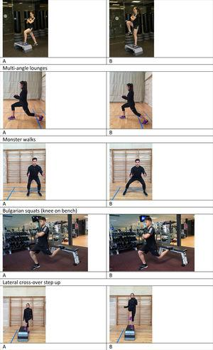 Conservative exercises for femoroacetabular impingement in professional basketball for the preseason period.