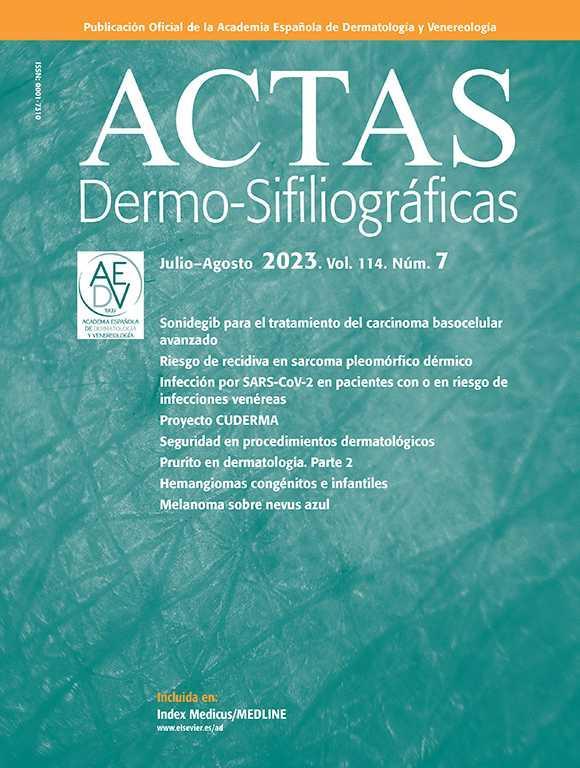 Actas Dermo-Sifiliográficas