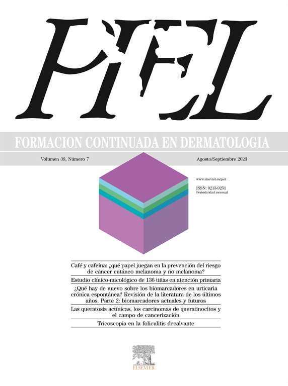 Piel. Formación continuada en dermatología