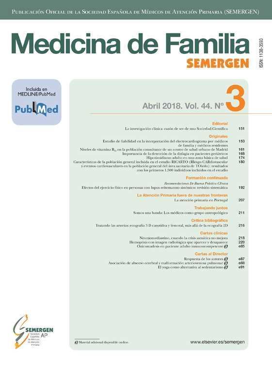 Medicina de Familia. SEMERGEN