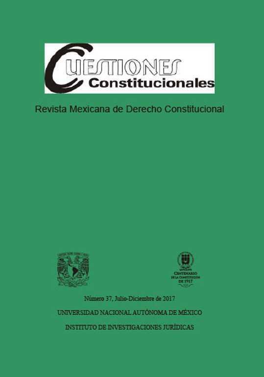 Cuestiones Constitucionales Revista Mexicana De Derecho Constitucional