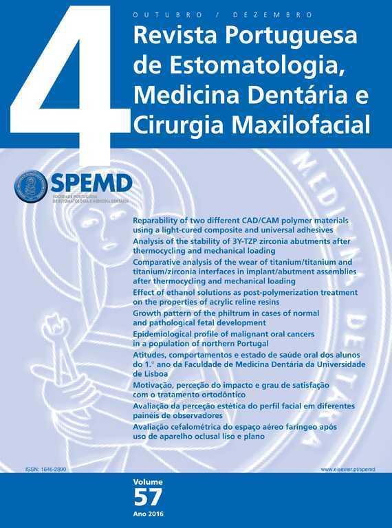 Revista Portuguesa de Estomatologia, Medicina Dentária e Cirurgia Maxilofacial