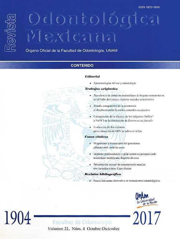 Revista Odontológica Mexicana