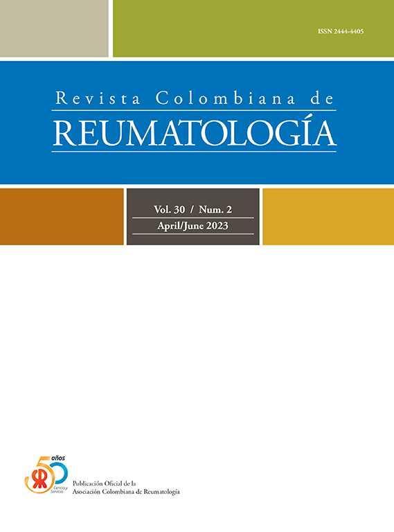 Revista Colombiana de Reumatología (English Edition)