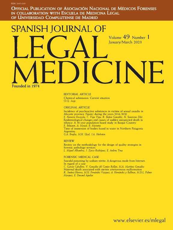 Spanish Journal of Legal Medicine