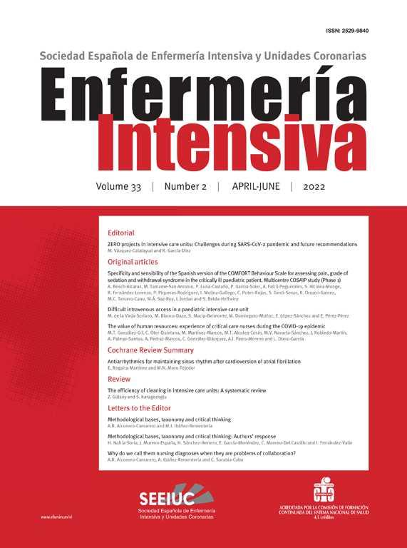 A case report: Nursing interventions on a patient with