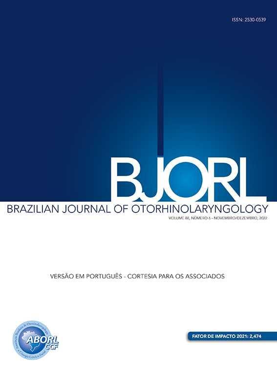 Brazilian Journal of Otorhinolaryngology